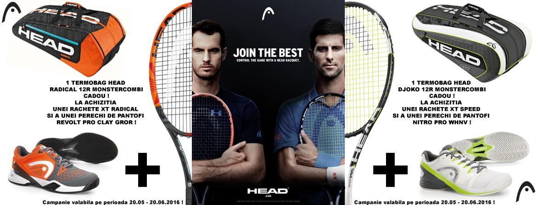 Promo Mai Iunie Head Tenis