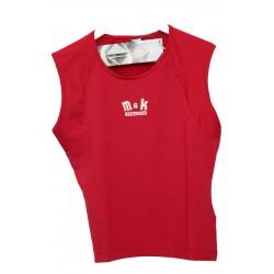 Tricou M&K Dama red