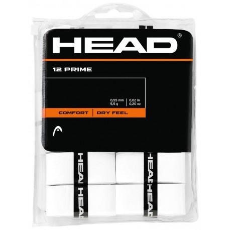 Head Overgripe Prime 12 pcs/pack-Wh