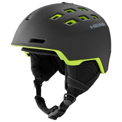 Casca ski Head REV Black/Lime