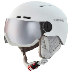 Casca ski Head QUEEN Wh